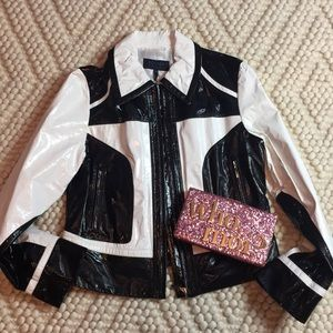 ESCADA SPORT patent leather jacket